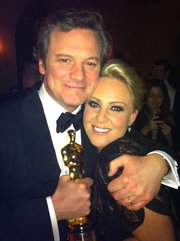 colin firth and georgie eisdell